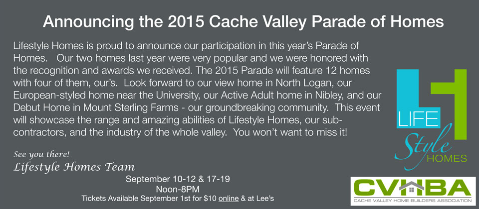 Cache Valley Parade Of Homes 2015
