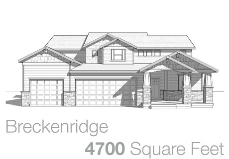 Lifestyle Homes - Walker Home Design Plans Breckenridge