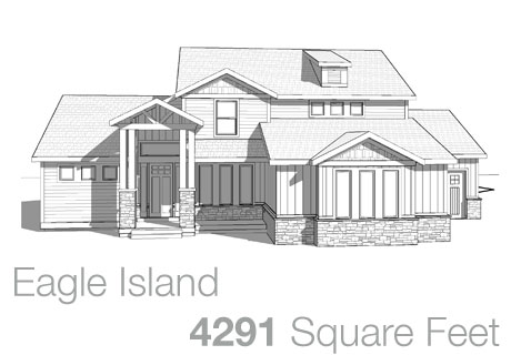 Lifestyle Homes - Walker Home Design Plans Eagle Island