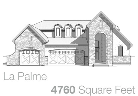 Lifestyle Homes - Walker Home Design Plans La Palme