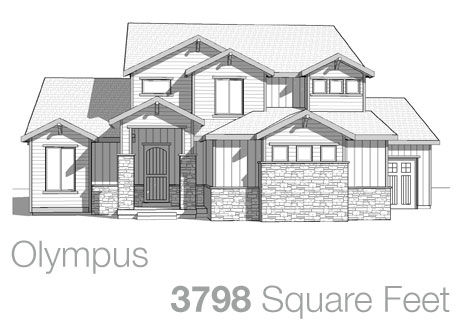 Lifestyle Homes - Walker Home Design Plans Olympus