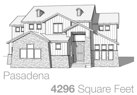 Lifestyle Homes - Walker Home Design Plans Pasadena