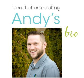 Andy - Head of Estimating at Lifestyle Homes