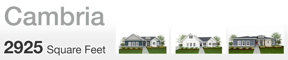 Lifestyle Homes - Cambria - Home Floor Plan