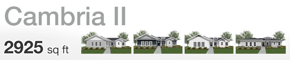 Lifestyle Homes - Cambria II - Home Floor Plan