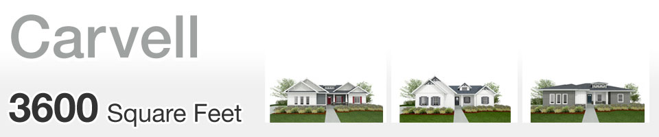 Lifestyle Homes - Carvell - Home Floor Plan