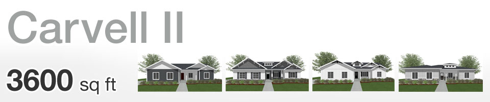 Lifestyle Homes - Carvell II - Home Floor Plan