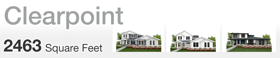 Lifestyle Homes - Clearpoint - Home Floor Plan