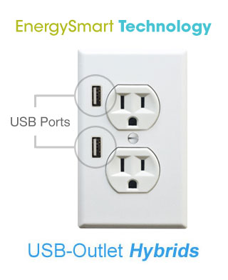 USB-Outlet Hybrids