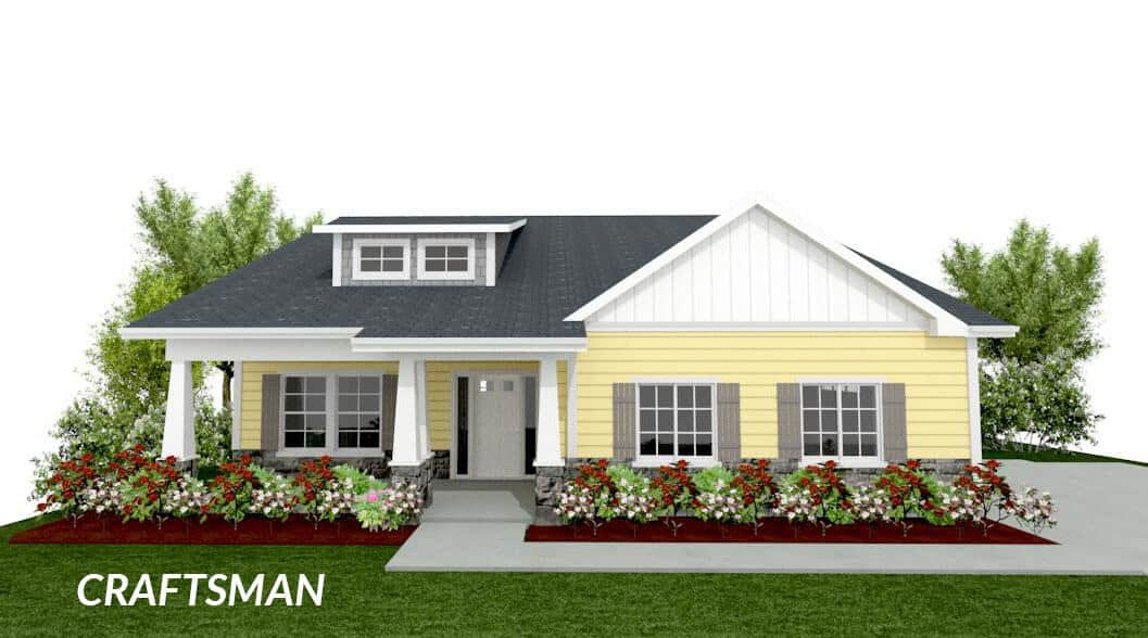 caddington craftsman floor plan