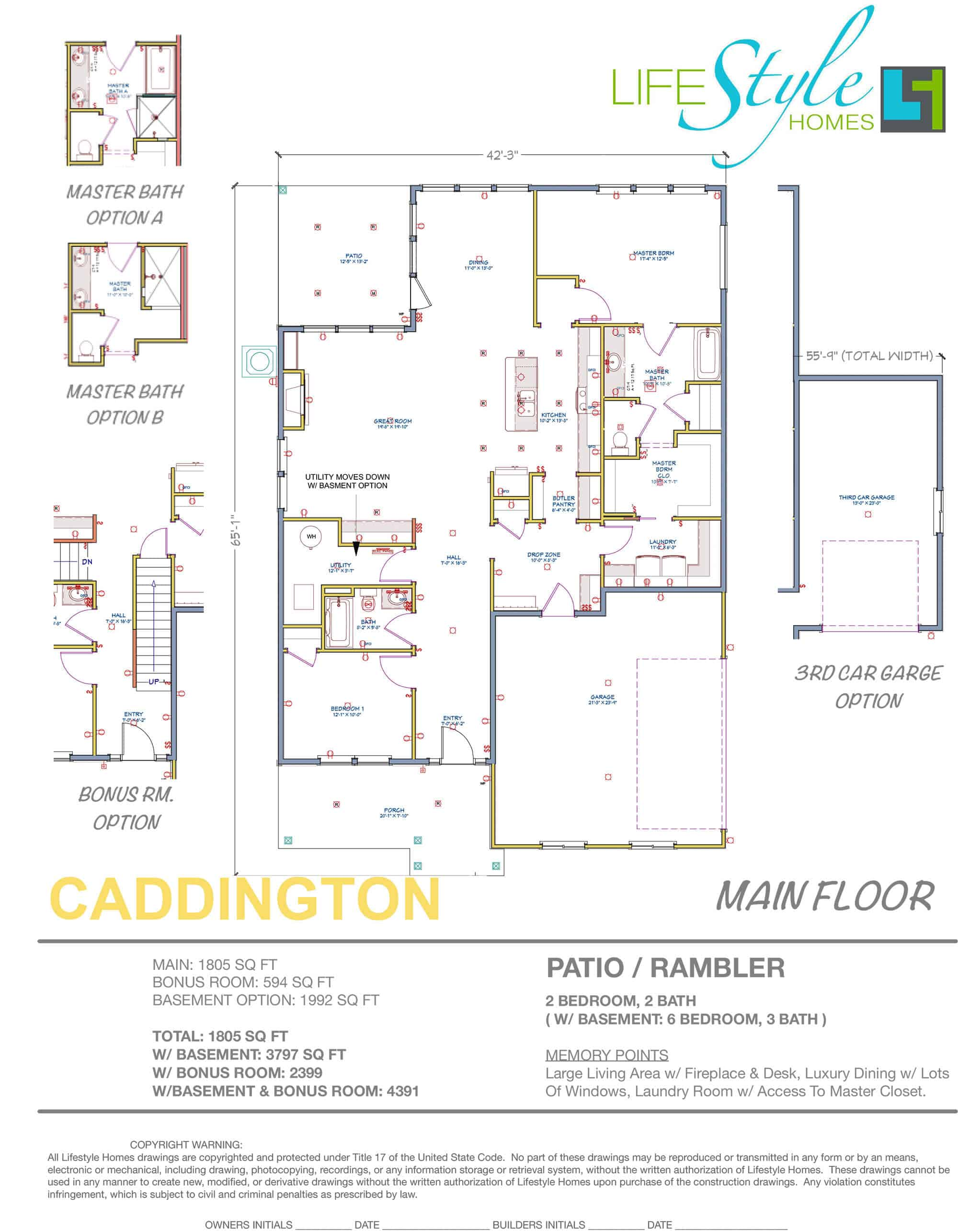 caddington main