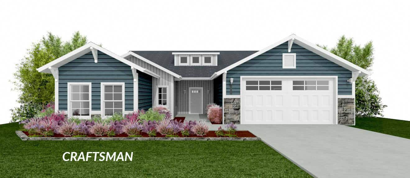 canyon craftsman floor plan