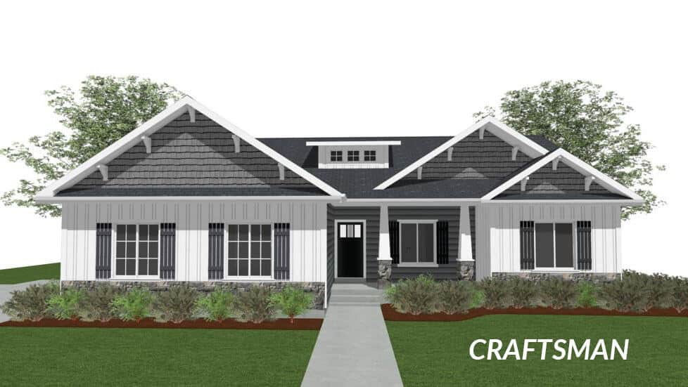 carvell craftsman floor plan