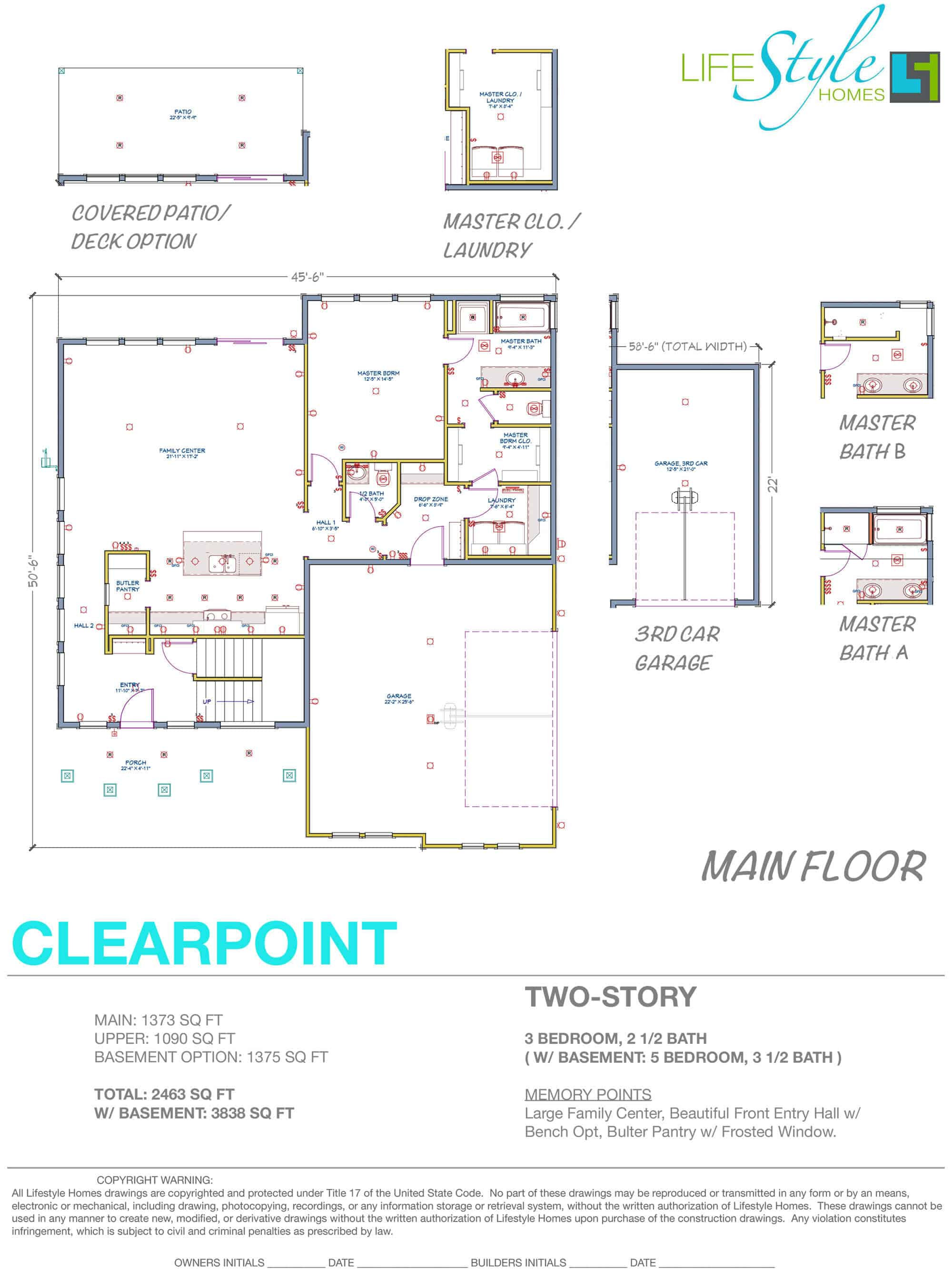clearpoint floor plan