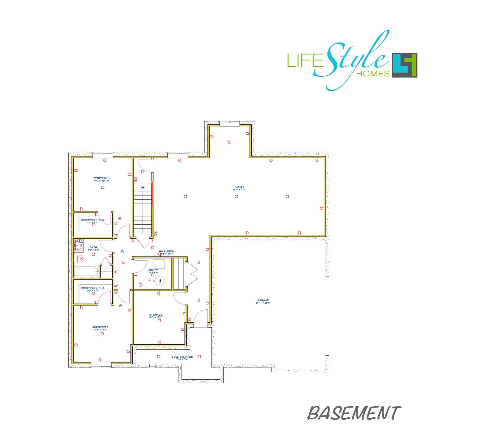 luxford floorplan