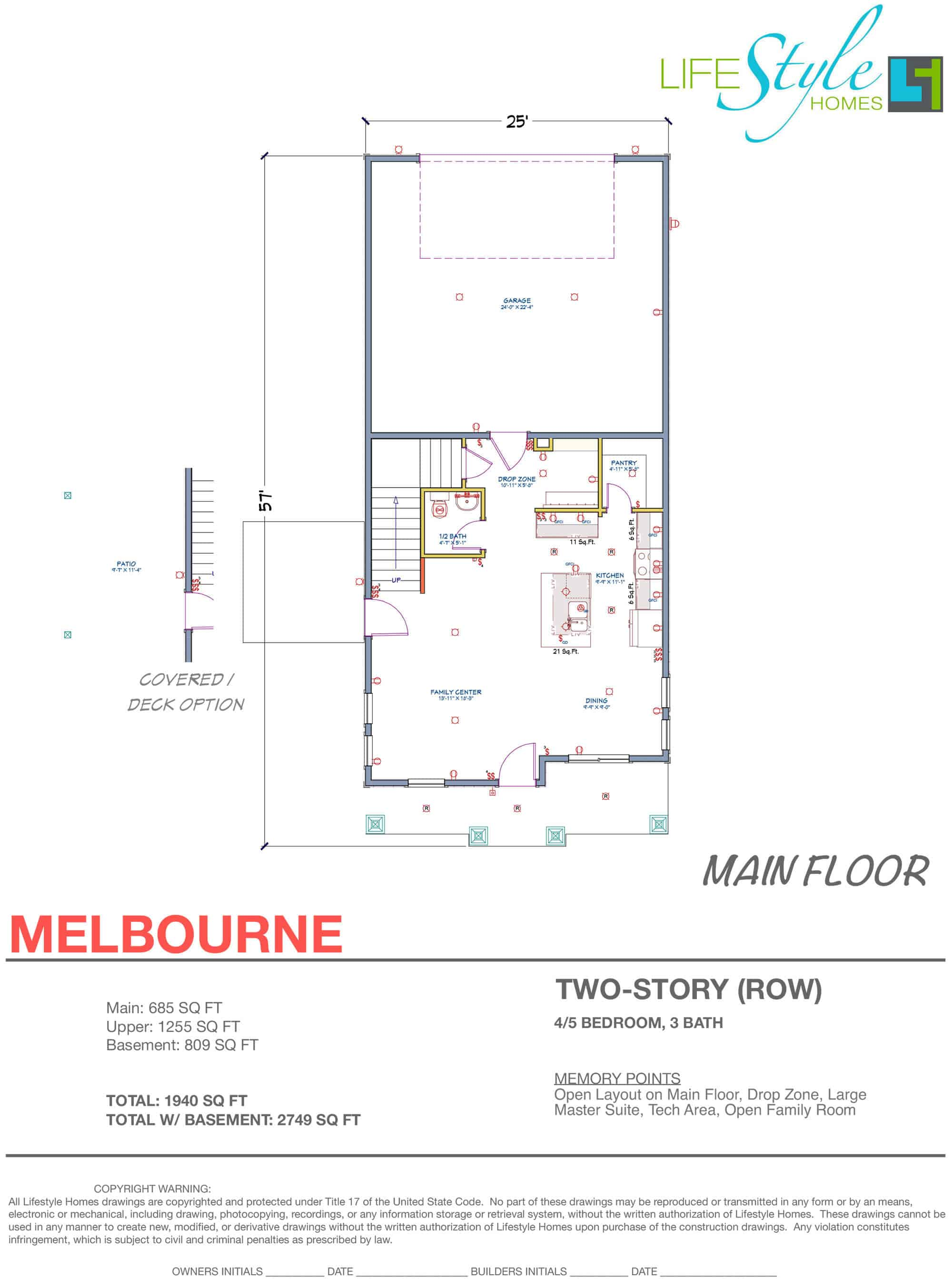 melbourne floor plan