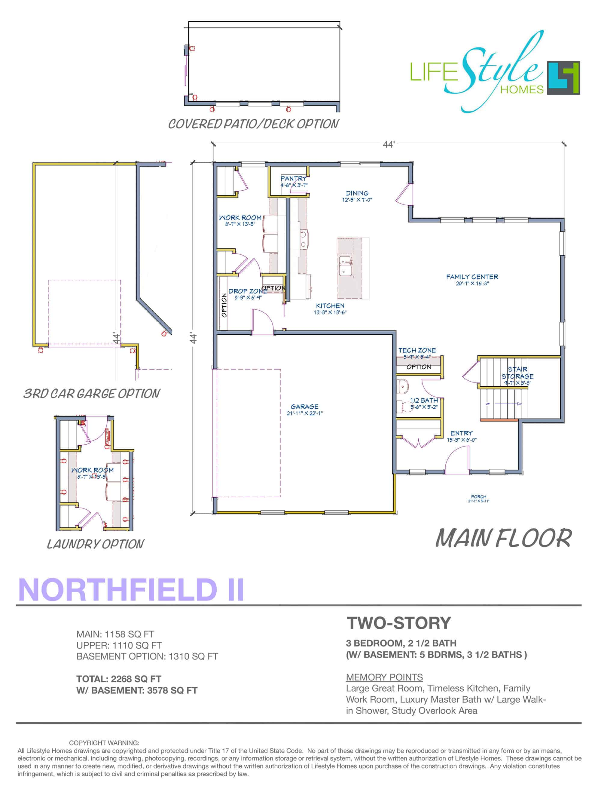 northfield floor plan